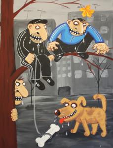Воскресный расстрел собак на улице Чикатилло вызвал в Дрянске волну пикетов