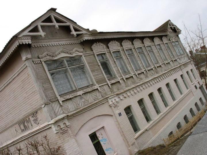 Таким был дом инженера Боровича до 2012 года