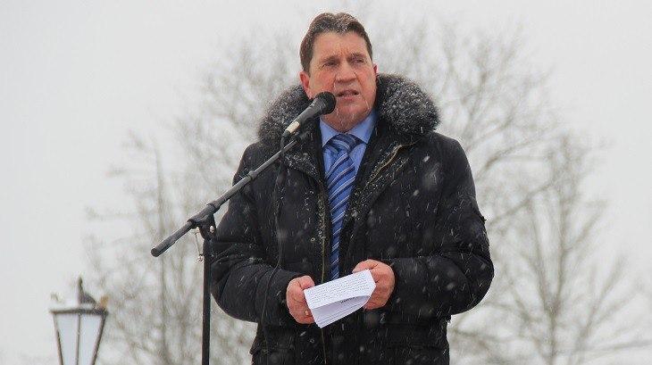 Александр Тюлин на митинге в декабре 2015 года.