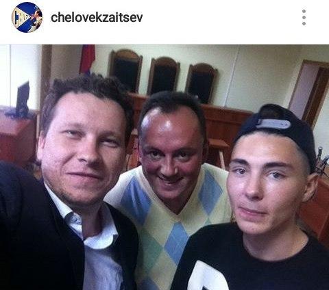 Андрей Зайцев (на фото справа) на обжаловании приговора 12 сентября.