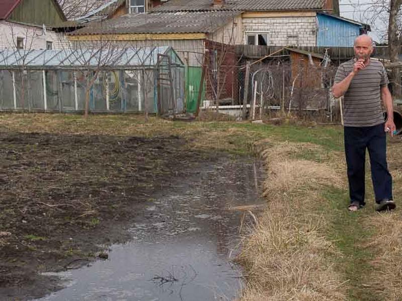 """Баба Ира из Радицы ждет прихода """"большой воды"""""""