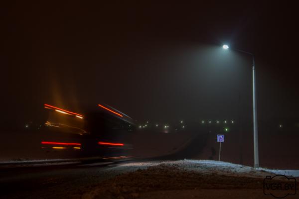Новозыбковцы просят осветить дорогу до Карховки