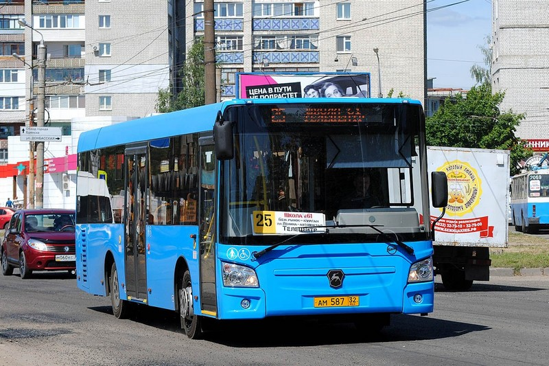 В Брянске изменится расписание движения автобуса 25 в выходные дни
