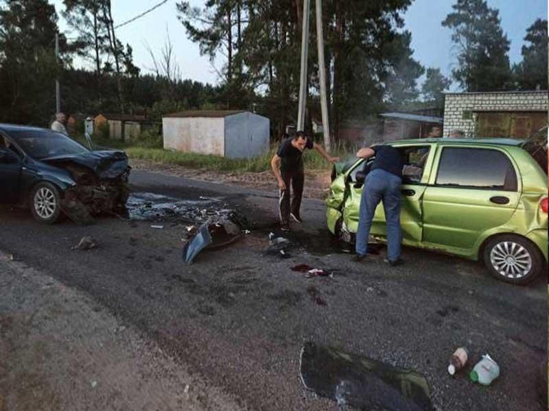 В городе Сельцо под Брянском случилось серьёзное ДТП