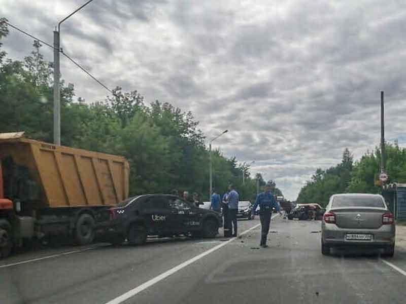 В Брянске произошло страшное ДТП на Речной
