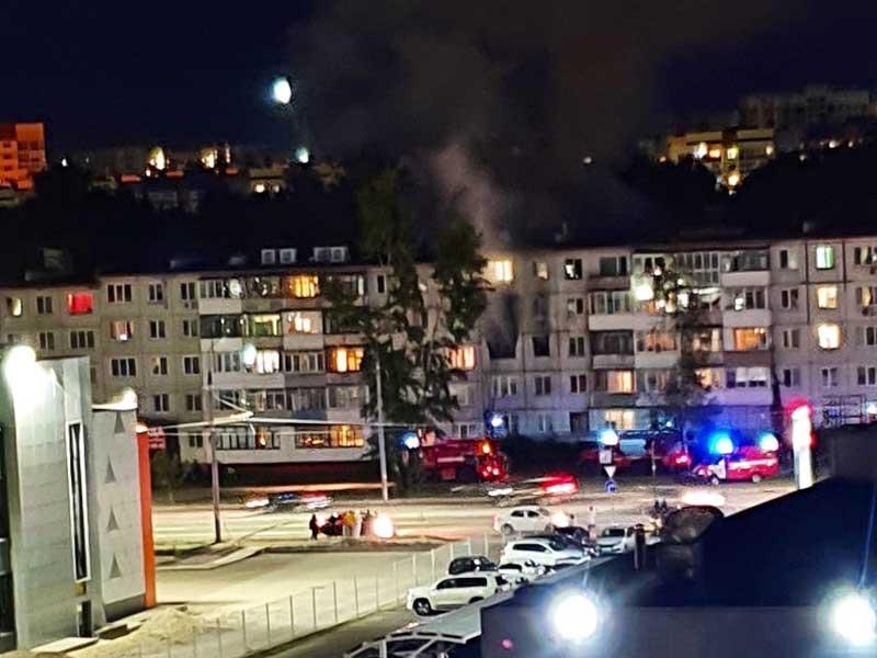 В Брянске на Авиационной произошёл пожар в квартире