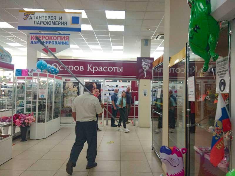 У сотрудников брянского ЦУМа началась паника из-за необычного посетителя