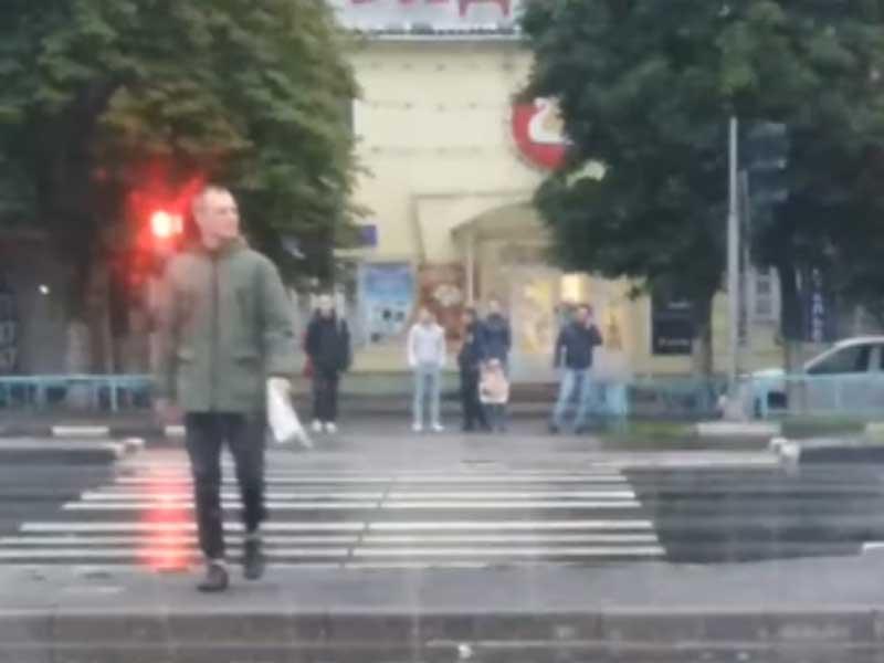 В Брянске обсуждают «пешеходов-камикадзе» на Московском проспекте