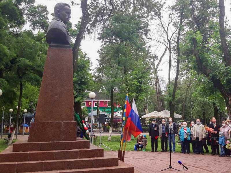 В Брянске празднуют 103-й день рождения дважды героя советского союза Павла Камозина