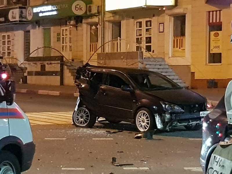 В Брянске произошло кошмарное ДТП возле площади Ленина