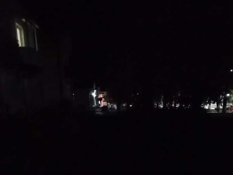 Брянцы пожаловались плохое освещение в центре Дятьково
