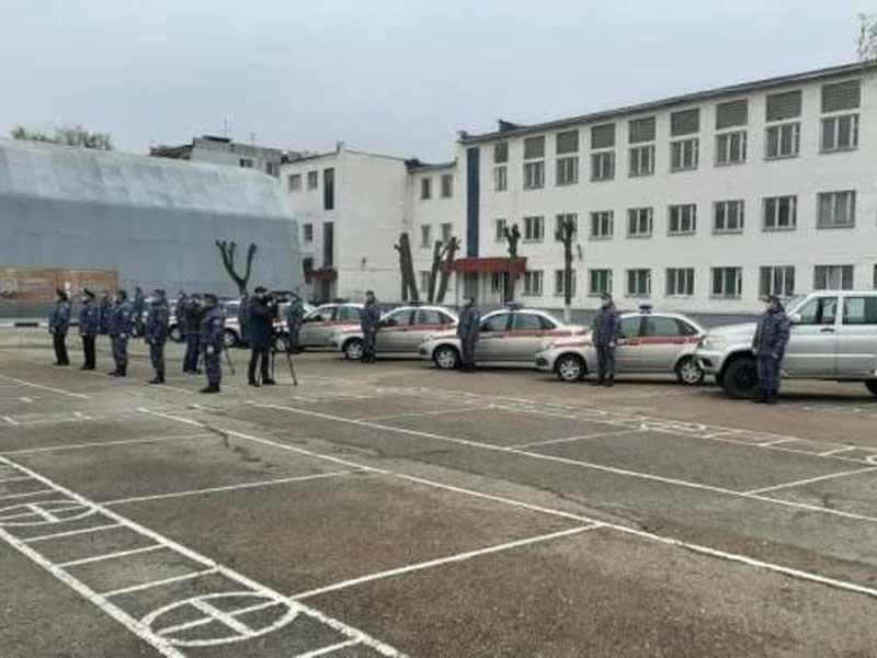 Брянские росгвардейцы получили новые автомобили