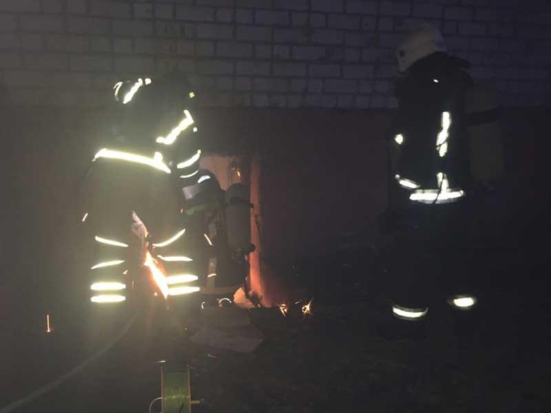 Под Новозыбковом сгорел частный жилой дом