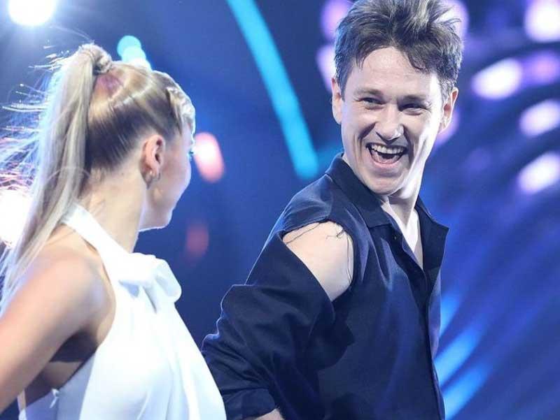 Брянский актер Антон Шагин занял последнее место в шоу «Танцы со звездами»