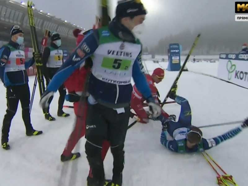 Брянский лыжник Большунов может сесть в тюрьму в Финляндии