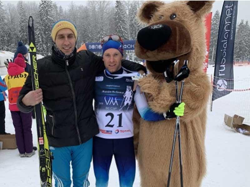 Лыжник из Брянска стал победителем марафона
