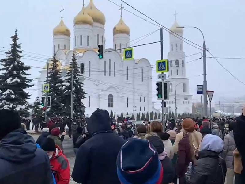 Появились первые задержанные в Брянске из-за несанкционированного митинга 23 января