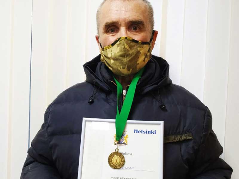 Спортсмен из Брянской области занял первое место на соревнованиях в Финляндии