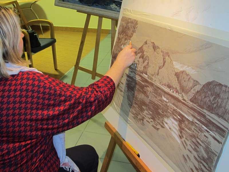 Персональная выставка живописи Светланы Жигаловой состоится в Брянске