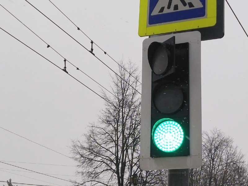 Брянский светофор - как образец качества выполняемых в городе работ