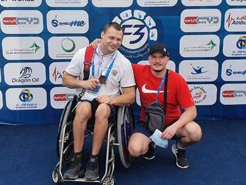 Брянский паралимпиец Хрупин занял 3-е место на международных соревнованиях