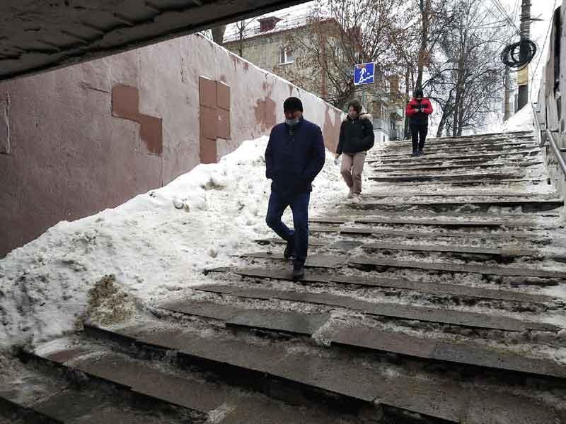 Отсутствие доступной среды в Брянске, как признак нерадивости чиновников