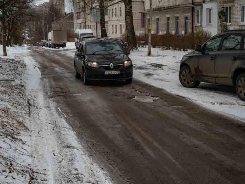 В Брянске отремонтируют переулок Осоавиахима