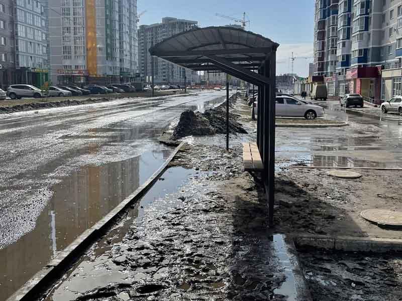 Брянский губернатор Богомаз увидел не все ужасы на новом участке улицы Горбатова