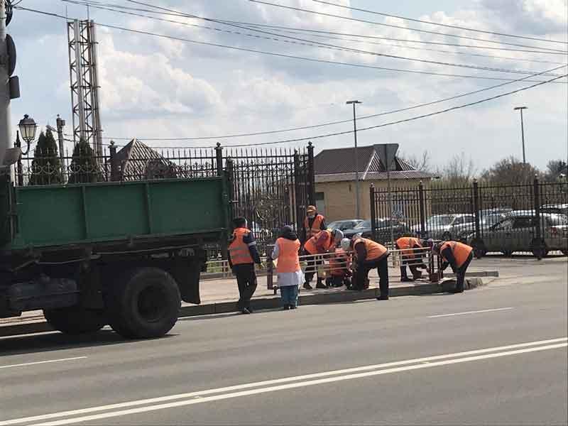 Иновационный подход к благоустройсту в Брянске, уже не смешит
