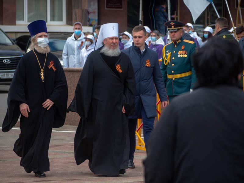 В Брянске прошёл парад Победы