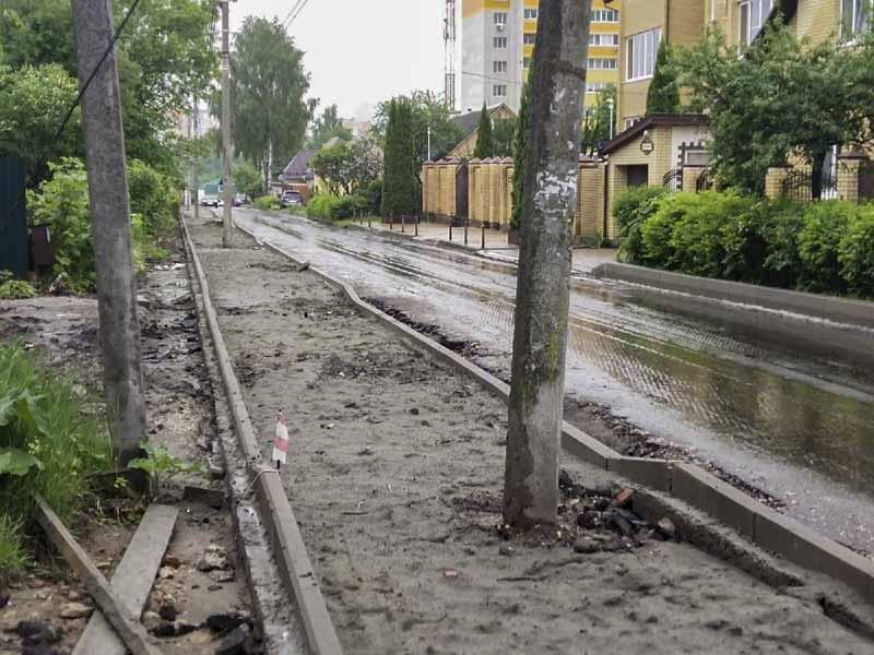 Жители улицы 8-го марта недовольны проходящим ремонтом Чермета