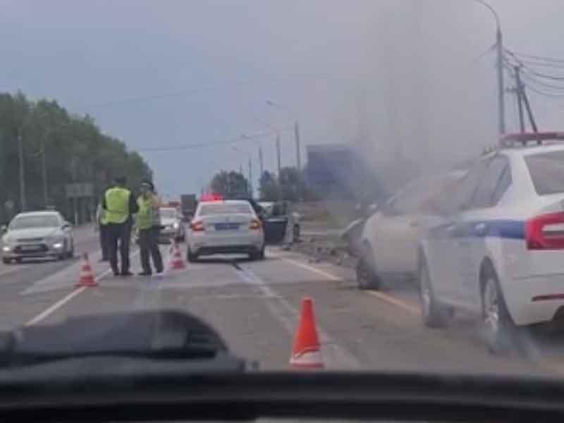 В Брянском районе на объездной трассе случилось жуткое ДТП