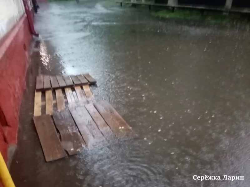 Брянск в очередной раз ушёл под воду