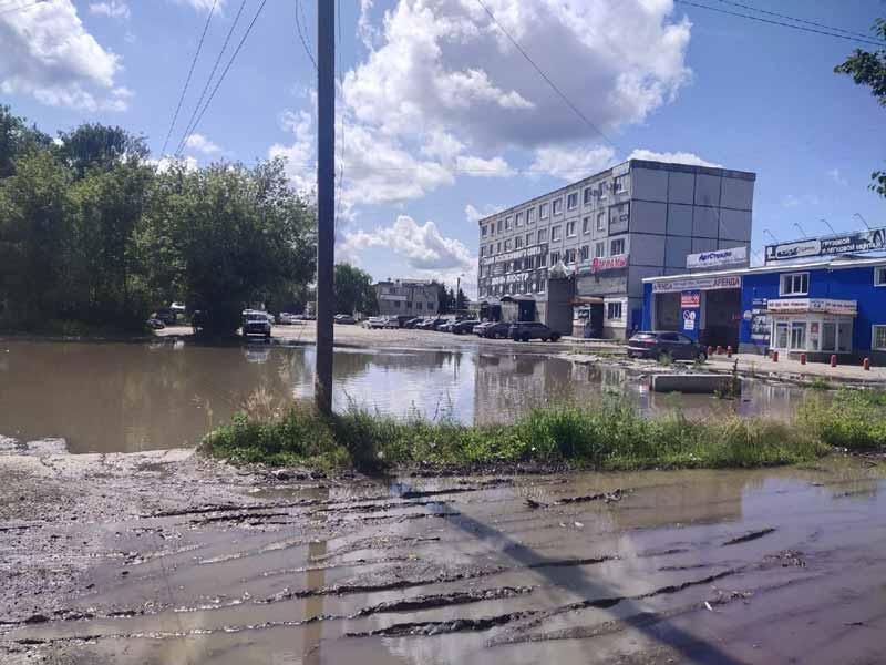Есть в Дбарском граде черный пруд